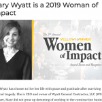 Mary Wyatt is a 2019 Woman of Impact